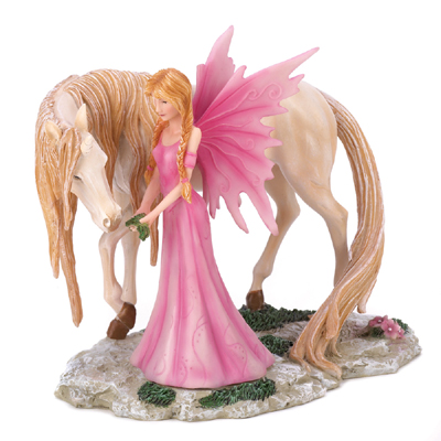 Pink Fairy And Her Friend Fig